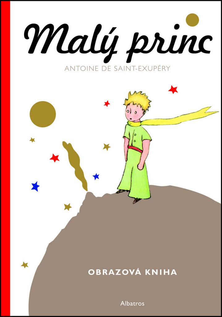 Malý princ Obrazová kniha - Antoine de Saint-Exupéry