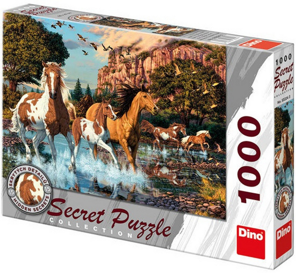 Puzzle Koně secret collection
