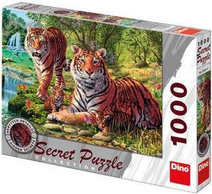 Obrázok Puzzle Tygři secret collection