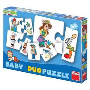 Obrázok Baby duo puzzle Profese