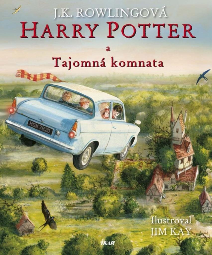 Harry Potter a Tajomná komnata (ilustrovaná edícia 2. diel) - Joanne K. Rowlingová