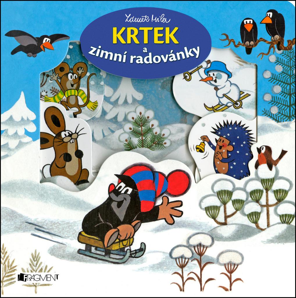 Krtek a zimní radovánky - Zdeněk Miler