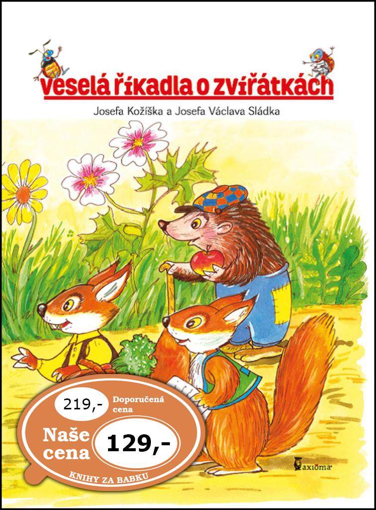 Veselá říkadla o zvířátkách - Václav Sládek, Josef Kožíšek
