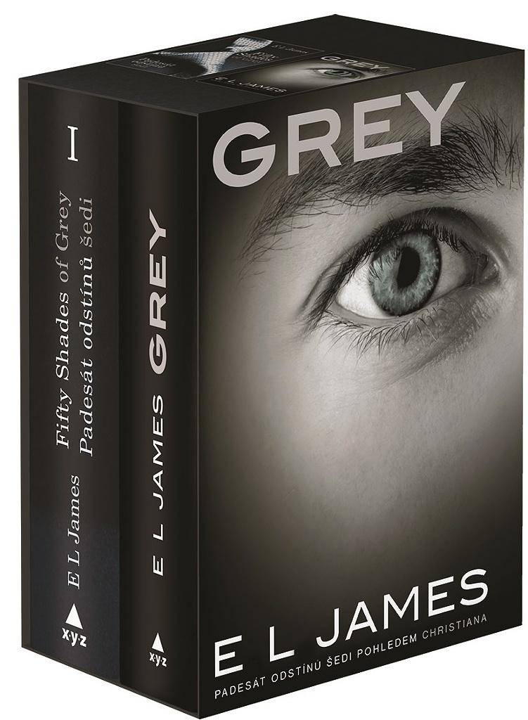 Fifty Shades of Grey + Grey BOX (obsahuje 2 svazky) - E L James