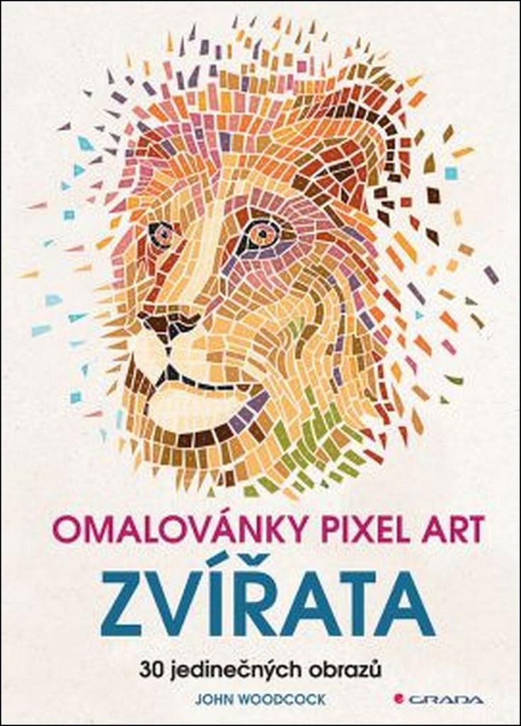 Omalovánky Pixel art Zvířata | KNIHCENTRUM cz