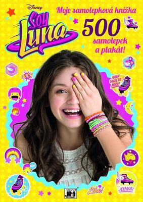 Obrázok Soy Luna Moje samolepková knížka