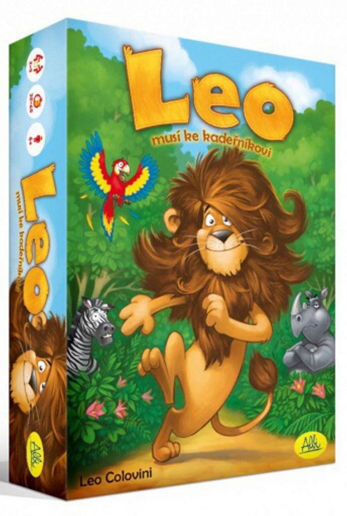 Leo musí ke kadeřníkovi
