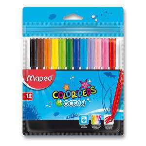 Obrázok Fixy Maped Color peps Ocean 12 bar.