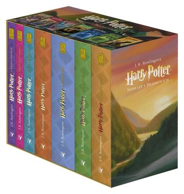 Harry Potter Sedm let v Bradavicích 1-7 BOX