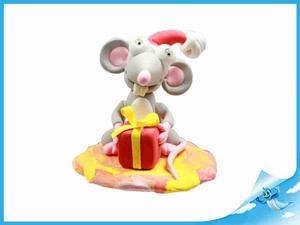 Obrázok Paulinda Merry Christmas krysa s doplňky v kelímku
