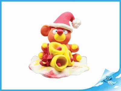 Paulinda Merry Christmas medvěd s doplňky v kelímku