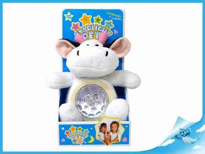 STARLIGHT PETS zvířátko plyšové-kráva/lampička