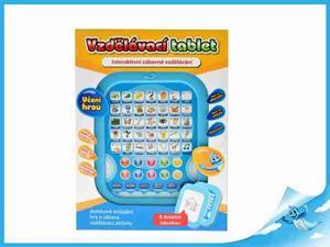 Obrázok Vzdělávací tablet modrý