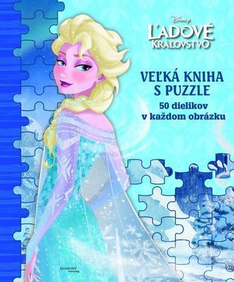 Ľadové kráľovstvo Veľká kniha s puzzle