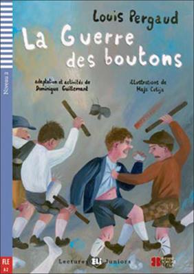 La guerre des Boutons (Gombíková vojna + CD)