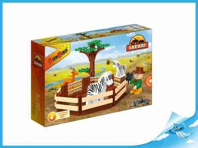 BanBao stavebnice Safari se zvířátky + 1 ToBees