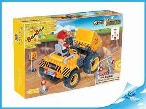 Obrázok BanBao stavebnice Construction auto kontejnerové + 1 figurka