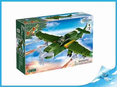 BanBao stavebnice Defence Force bitevní letadlo + 1 figurka ToBees