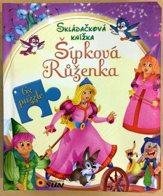 Skládačková knížka Šípková Růženka