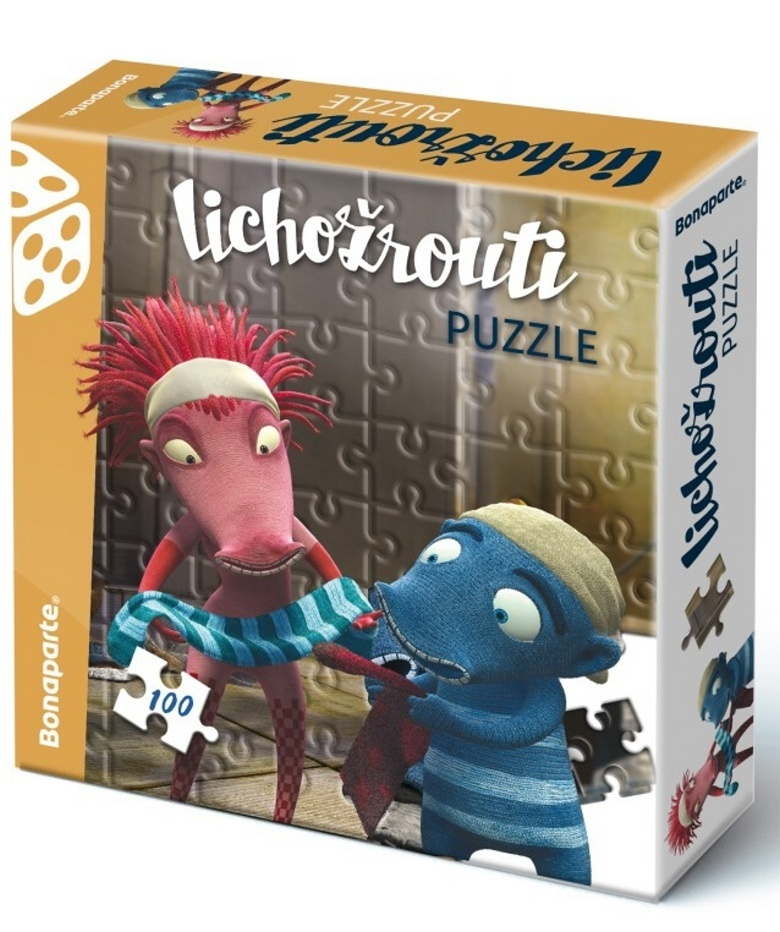 Puzzle v krabici 100 Lichožrouti
