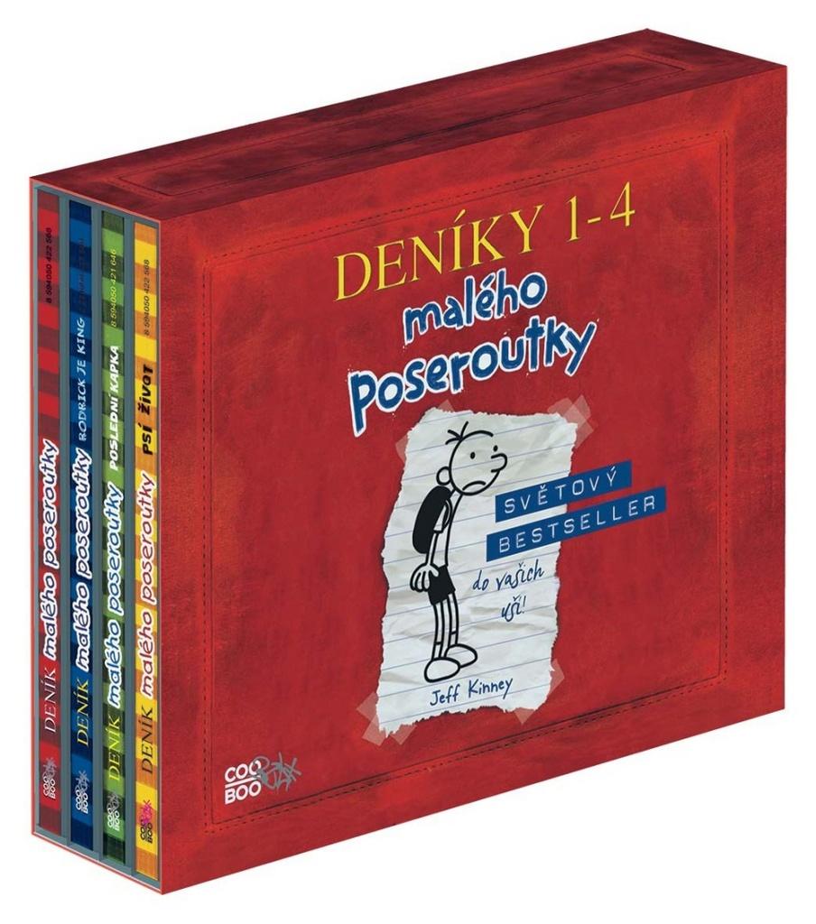 Deník malého poseroutky audio 1-4 BOX - Jeff Kinney