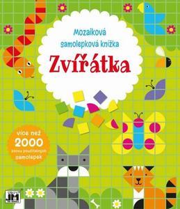 Obrázok Mozaiková samolepková knížka Zvířátka