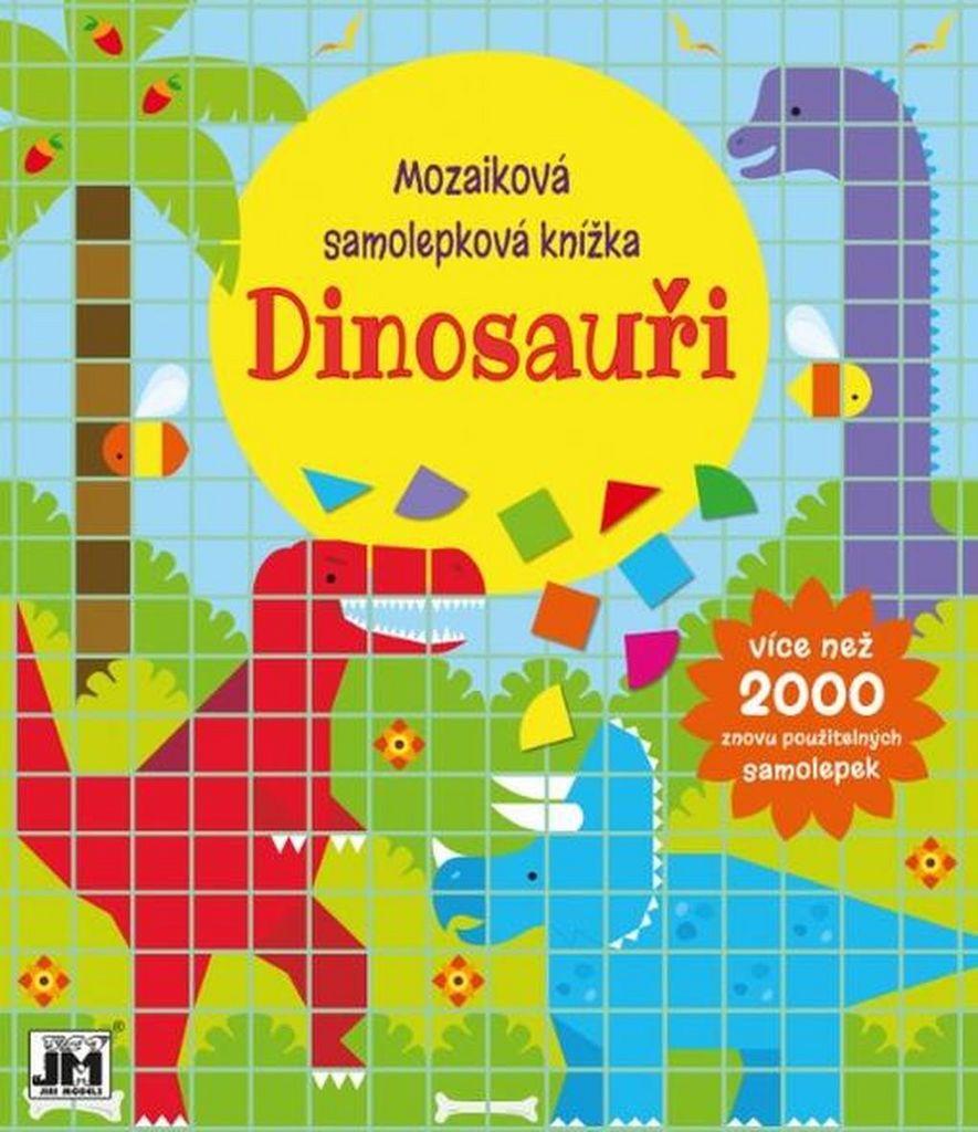 Mozaiková samolepková knížka Dinosauři