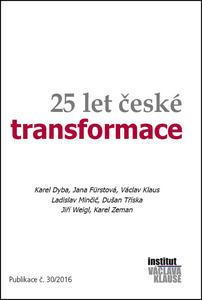 Obrázok 25 let české transformace