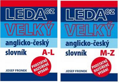 Velký anglicko-český slovník 1. a 2. díl