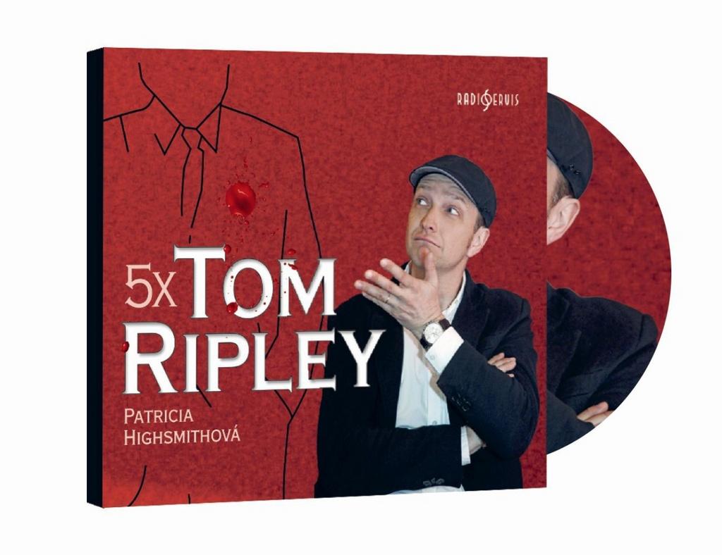 5x Tom Ripley - Patricia Highsmithová
