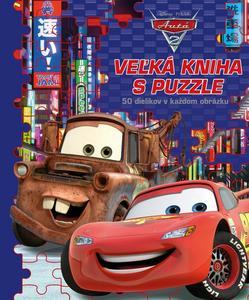 Obrázok Autá 2 Veľká kniha s puzzle