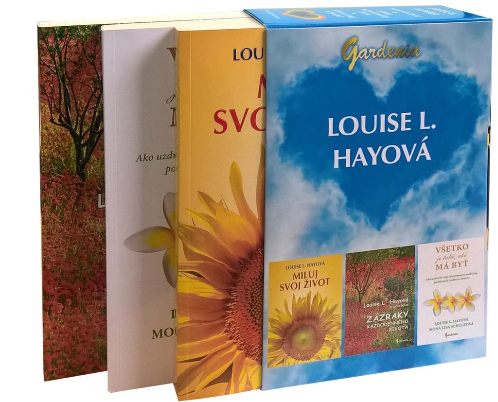 Balíček 3 ks Miluj svoj život - Louise L. Hayová