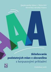 Obrázok Skloňovanie podstatných mien v slovenčine s korpusovými príkladmi