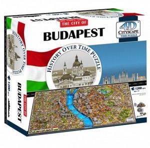 Obrázok 4D City Puzzle Budapest