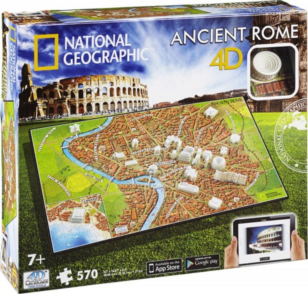 4D City Puzzle Starověký Řím