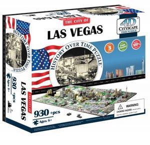 Obrázok 4D City Puzzle Las Vegas