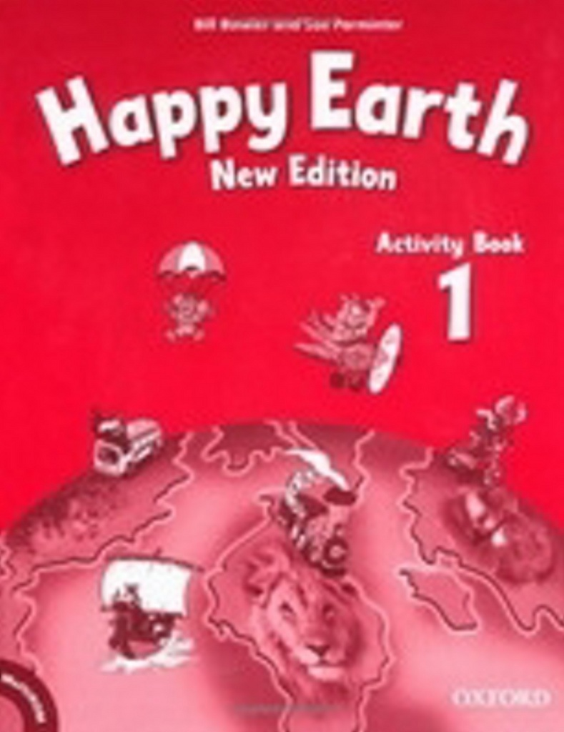 Happy Earth New Edition 1 Activity Book with MultiRom Pack
