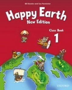 Obrázok Happy Earth New Edition 1 Class Book