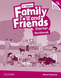 Obrázok Family and Friends (2nd Edition) Starter Workbook with Online Skills Practice