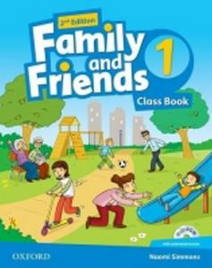 Obrázok Family and Friends (2nd Edition) 1 Course Book with MultiROM Pack