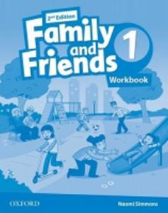 Obrázok Family and Friends (2nd Edition) 1 Workbook