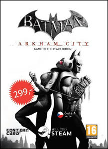 Obrázok Batman Arkham City