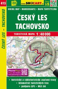 Obrázok Český les, Tachovsko 1:40 000