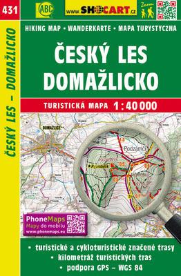 Obrázok Český les, Domažlicko 1:40 000