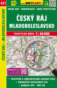 Obrázok Český ráj, Mladoboleslavsko 1:40 000