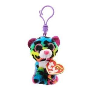 Beanie Boos Dotty přívěšek barevný gepard 8.5 cm