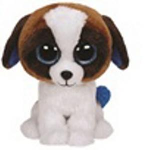 Obrázok Beanie Boos Duke hnědo-bílý pes 15 cm