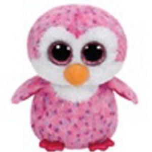 Obrázok Beanie Boos Glider růžový tučňák 15 cm