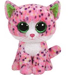 Obrázok Plyš očka velká růžová kočka