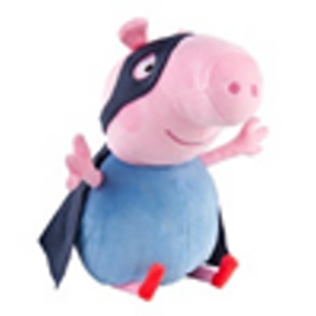 Plyš Beanie Babies Lic Peppa Pig - George Superhero  5b988dd0e825